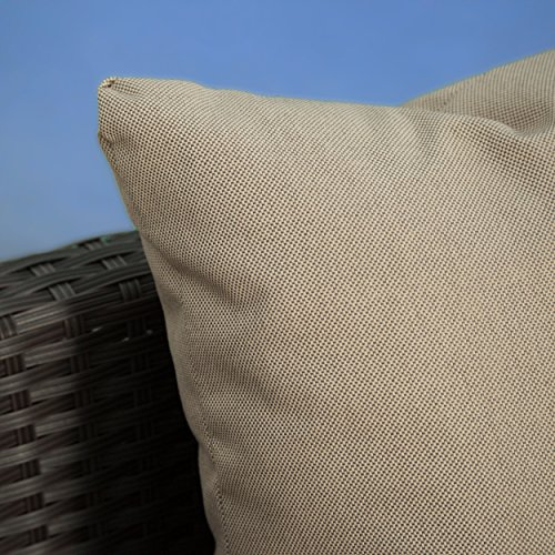 Wicker Sofa Sectional Set - Water Resistant Pillows