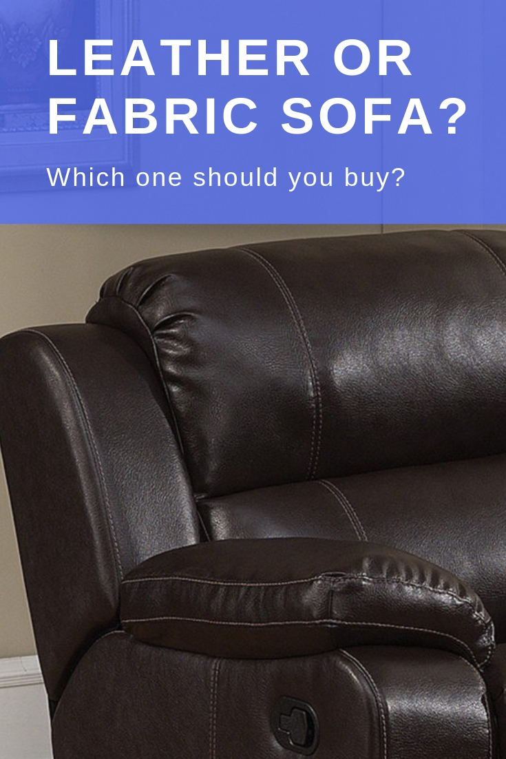 Leather Or Fabric Sofa Which One